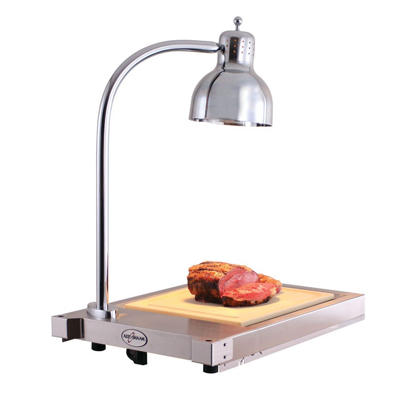 CS-100 Single Lamp Hot Carving Shelf