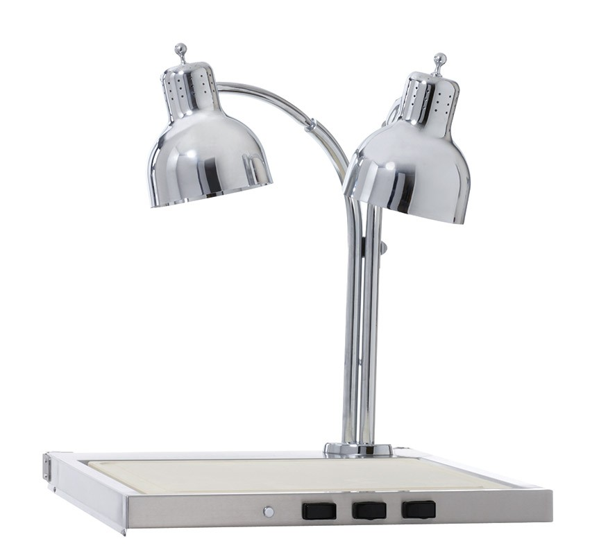 CS-200 Double Lamp Hot Carving Shelf