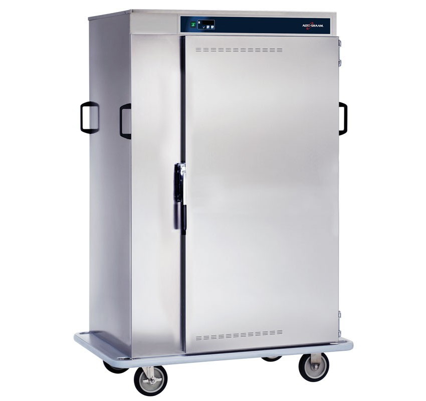 1000-BQ2-128 Halo Heat Mobile Banquet Cart