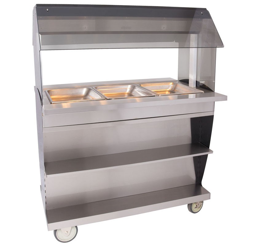 HFT2-300 Hot Food Table Countertop or Island