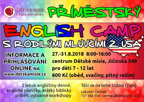 Příměstský English Camp