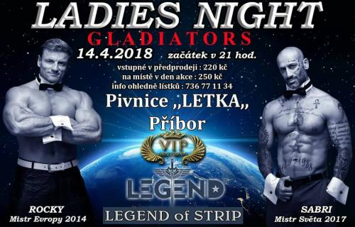 Ladies night - Gladiaators