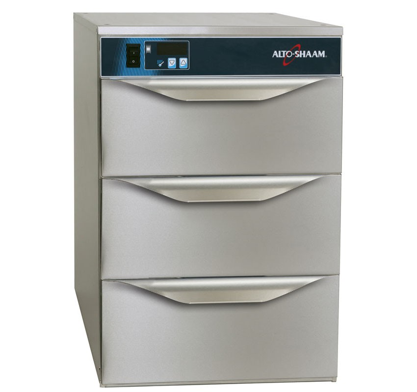 500-3DN Triple-Stacked Halo Heat Narrow Warming Drawers
