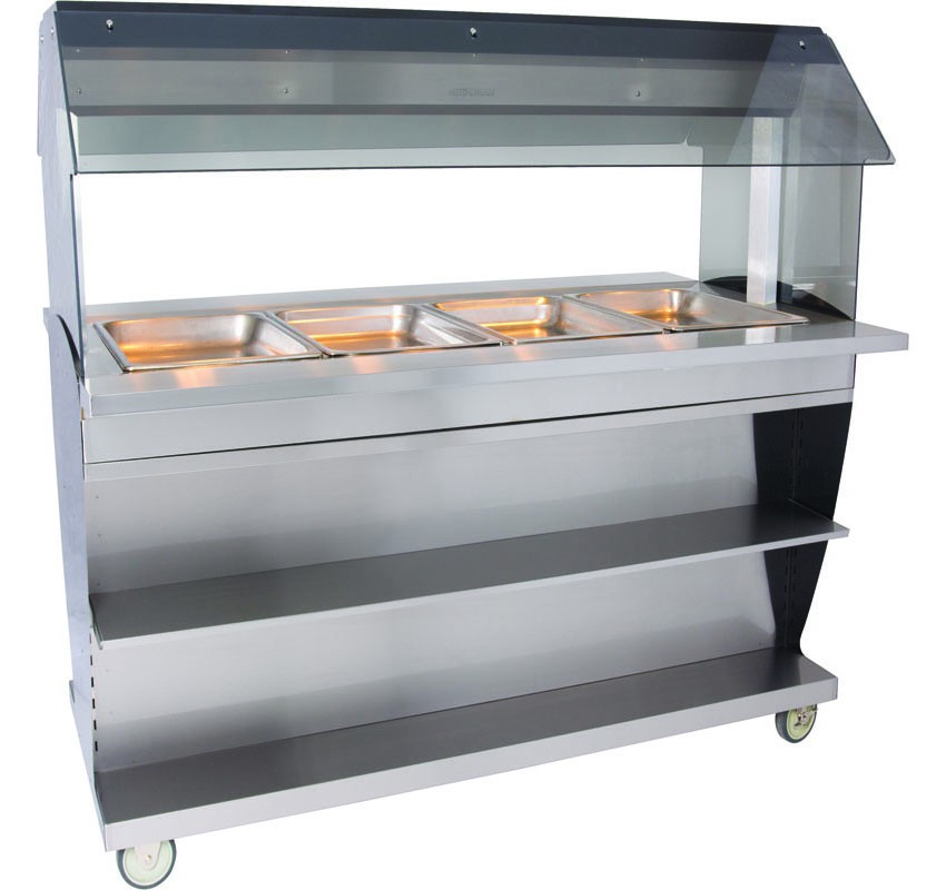 HFT2-400 Hot Food Table Countertop or Island