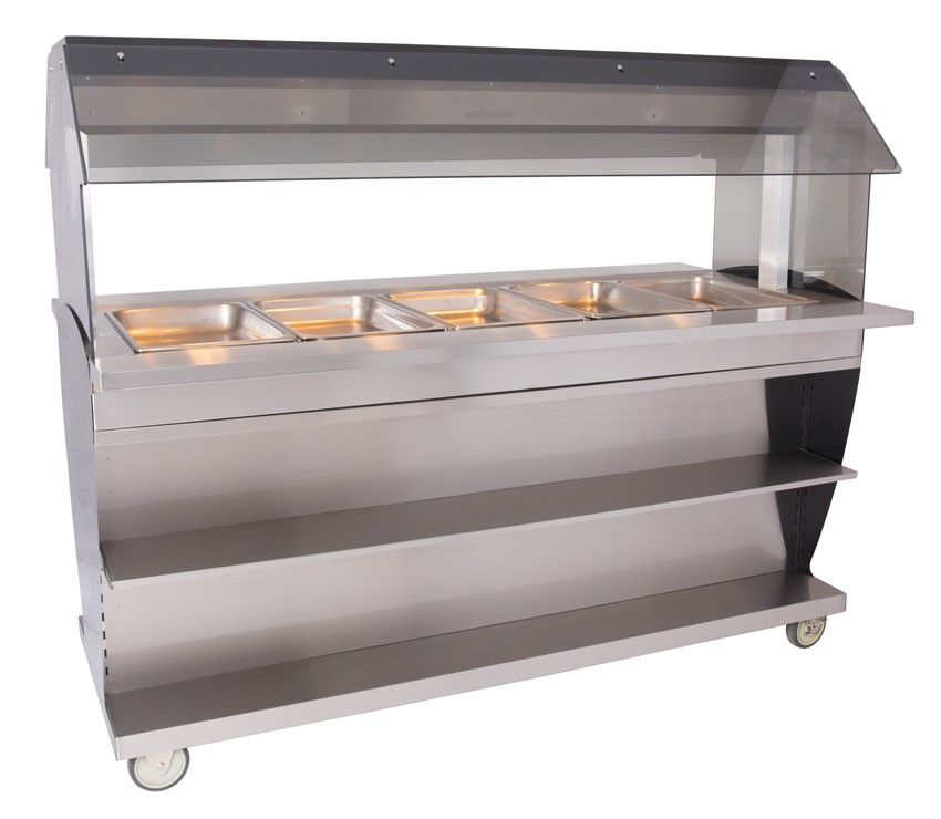 HFT2-500 Hot Food Table Countertop or Island